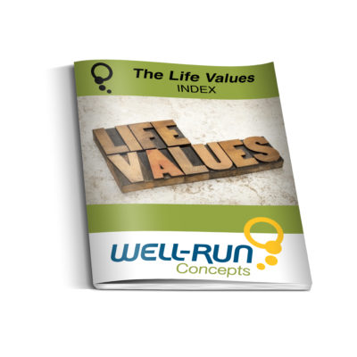 The Life Values Index
